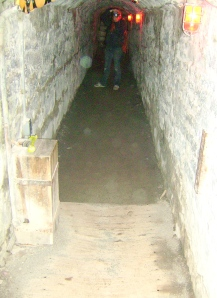 There are 6 or more Spirit Orbs in this tunnel near the Officers Quarters st Fort Henry.